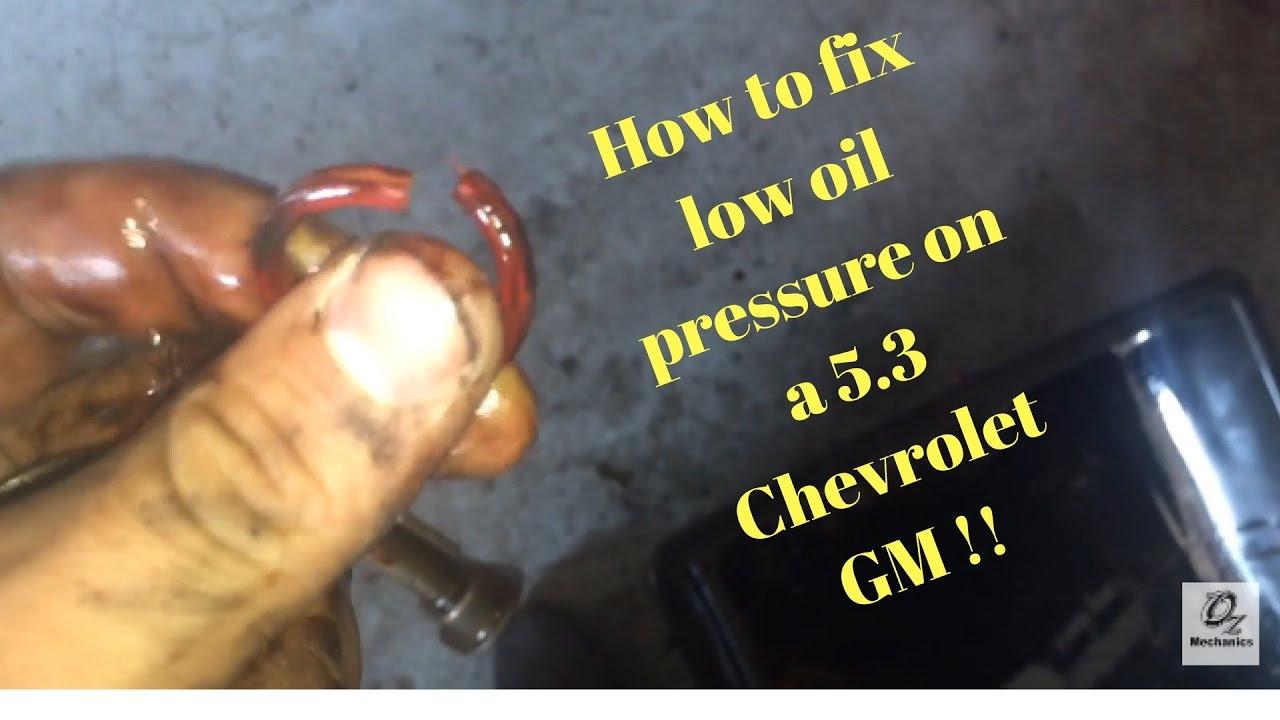 2011 chevy silverado 5.3 oil capacity