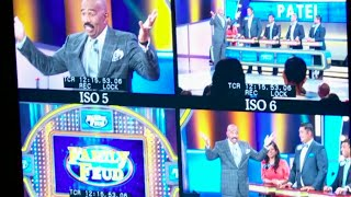 Family Feud: Behind the Scenes! || STEVE HARVEY