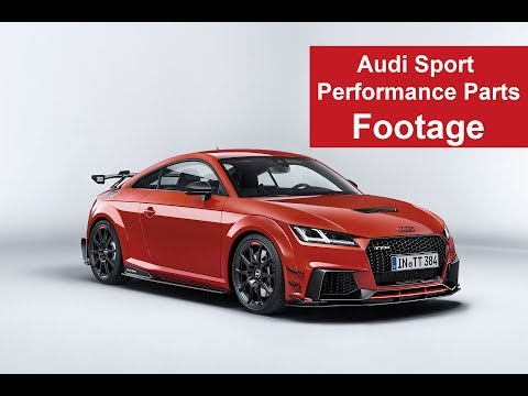 Audi Sport Performance Parts exklusive Footage