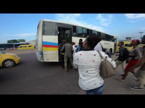 AFP news agency: Kinshasa: Commuting hell in DR Congo's capital | AFP