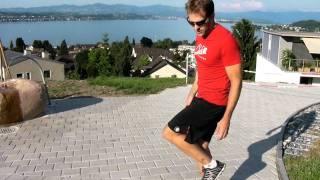 Efficient Running: Landing Position