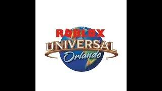 At Universal, Orlando (roblox) so real!!!!!!!!!! p2
