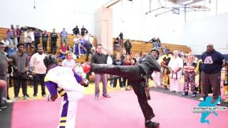 Bailey Murphy v Kameren Dawson Mens Sparring - 2016 Long Island Winter Open