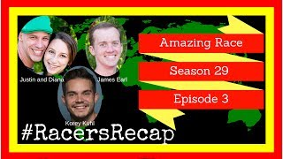 Amazing Race S29 Epi 3  #RacersRecap