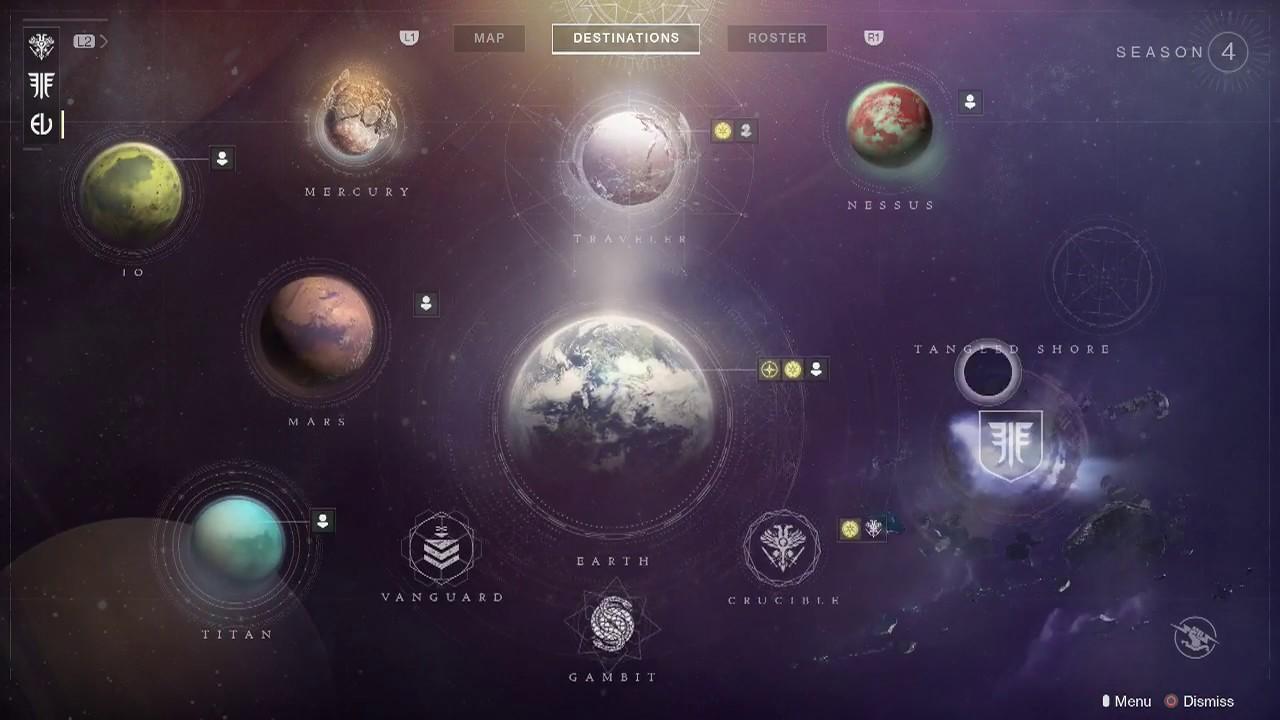 destiny 2 forsaken new solar system map powerful gear layout access