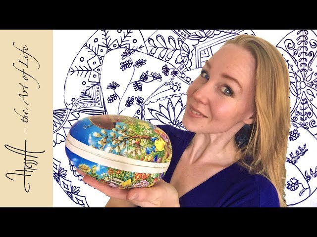 Hiding Easter eggs and drawing pysanky eggs v-log 15