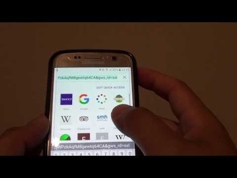 Samsung Galaxy S7: How to Set Default Search Engine to Google / Bing / Yahoo!