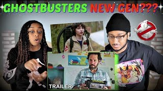 """Ghostbusters: Afterlife"" Official Trailer REACTION!!!"