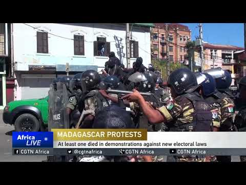 One dead, 16 others injured in demonstrations against new electoral laws in Madagascar