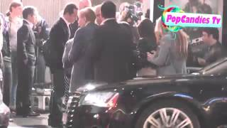 Sumner Redstone arrives at GI Joe Retaliation Premiere in Hollywood