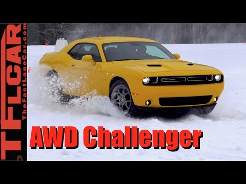 2017 Dodge Challenger Gt Awd Everything You Wanted To Know In The Snow