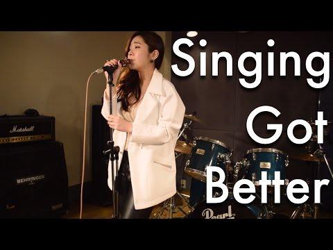 Singing got better - Ailee  [Akane Kiyose Cover] 日本語ver.