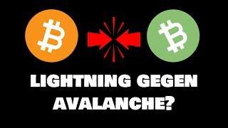 Bitcoin Lightning gegen Bitcoin Cash Avalanche - wer wird gewinnen?
