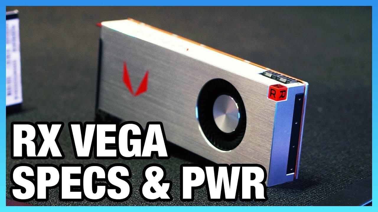 AMD RX Vega 64 & 56 Power Draw, Price, Specs, & DSBR
