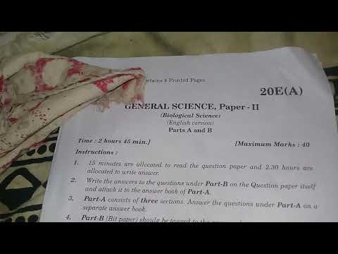 10th class public biology question paper please subscribe friend to all question