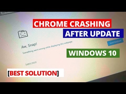 How To Fix Google Chrome Crashing After Latest Update