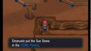 Pokemon X/Y - Sun Stone Location #01