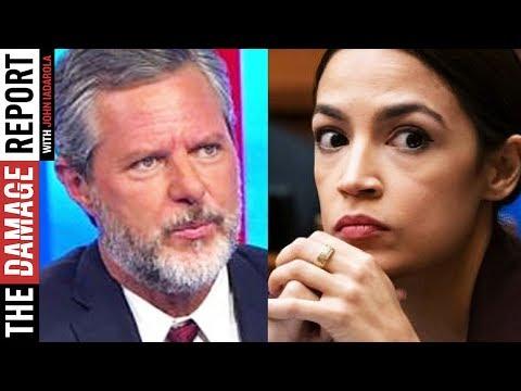 Jerry Falwell Jr. Threatens Alexandria Ocasio-Cortez