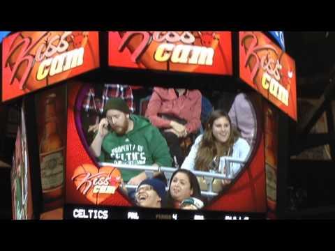 2015/01/03 Chicago Bulls Kiss Cam Barbershop Hashimoto