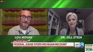 Federal judge agrees to end Michigan recount after 3 days
