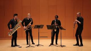Schmitt: Quatour pour Saxophones, Op. 102, Mvt.  IV