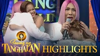 Tawag ng Tanghalan: Vice Ganda is moved by Janine's performance