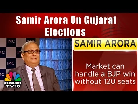 Samir Arora On Gujarat Elections And It's Impact on the Markets