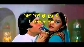 Log kehate hain karaoke with hindi lyrics by Rajan Shetye