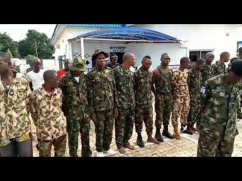 Breaking, Nigeria Navy Arrest 28 Fake Army, in Benue state