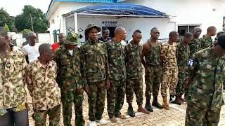 Breaking, Nigeria Navy Arrest 28 Fake Army, in Benue state