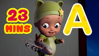 Alphabet Song - Surprise Gifts Theme baby Song | Learn Alphabet | Infobells