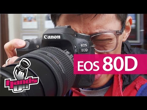 Canon EOS 80D Hands-on Review