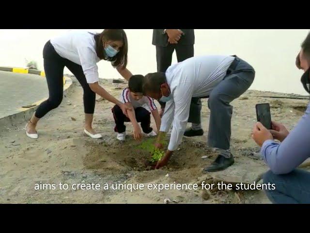 Planting Trees at Vernus International School