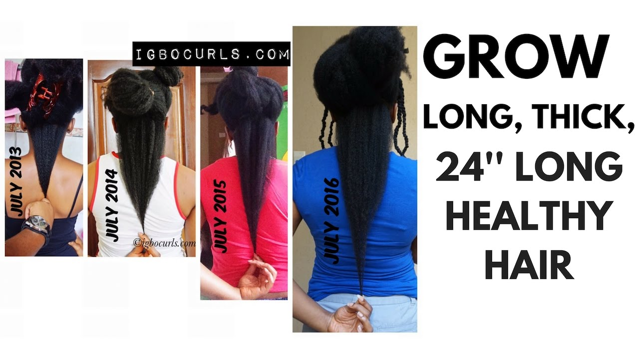 How Fast Natural Hair Grows