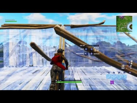 How To Do Double Ramp Floor Wall Rush On CONSOLE! (Tfue Ramp Rush) - Fortnite Battle Royale