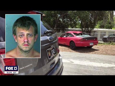 Florida man says he hit deer but human leg found at crash scene, FHP says