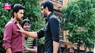 Karthi & Villian Super Hit Action Powerpack Scene | Telugu Interesting Scene | Mana Cinemalu