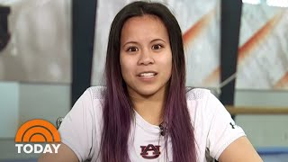 Injured Auburn Gymnast Samantha Cerio Speaks Out About Accident | TODAY