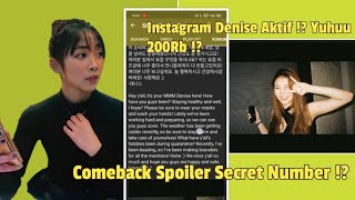 SECRET NUMBER tanggal comeback !? Denise spoiler !?