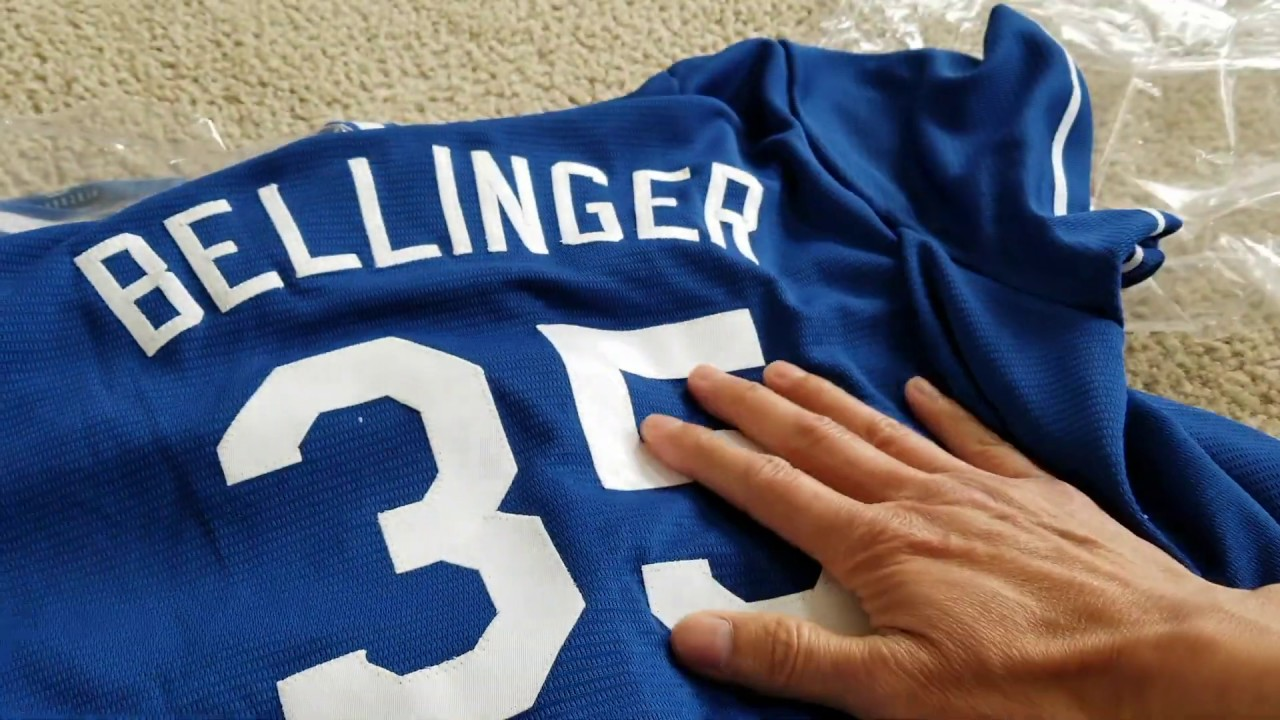new product 754d2 a7144 Los Angeles Dodgers Cody Bellinger #35 Baseball Jersey & Girl Tank Top!
