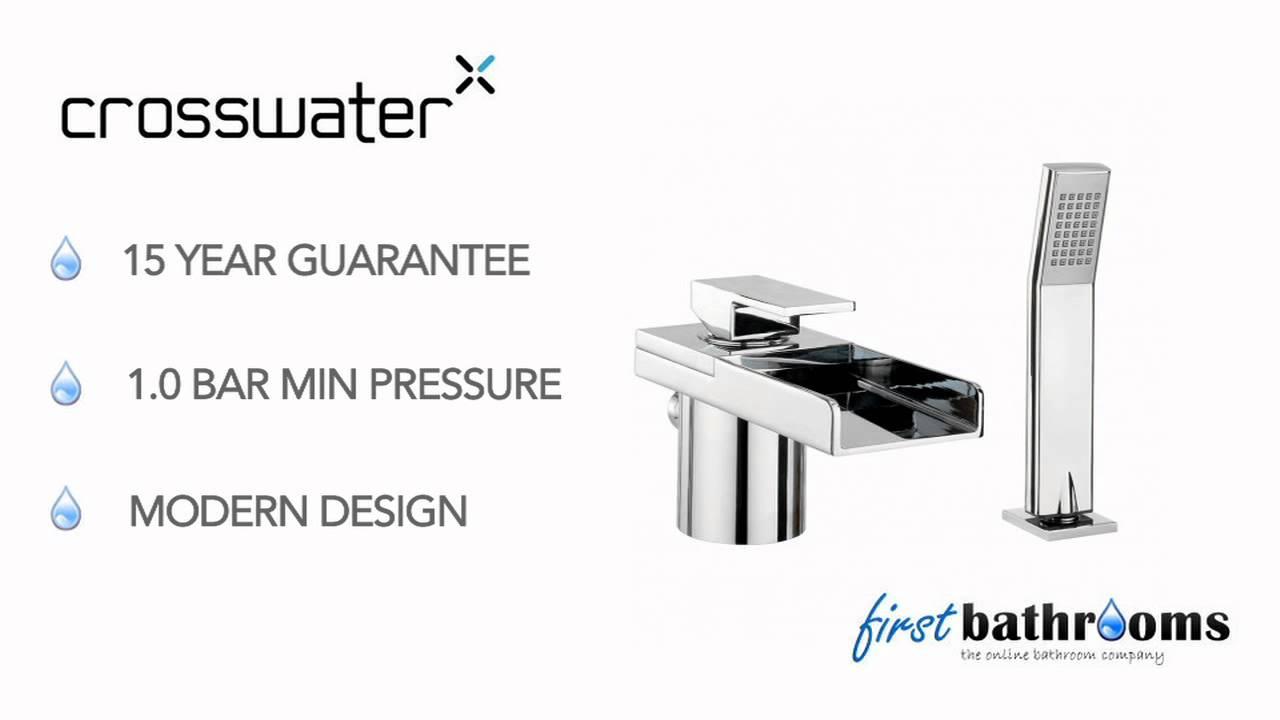 crosswater water square bath shower mixer monobloc with kit crosswater water square bath shower mixer monobloc with kit ws410dc