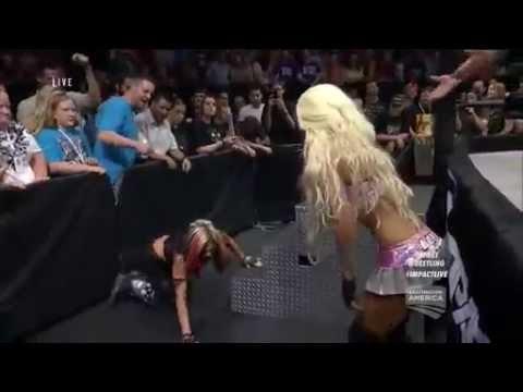 TNA Impact 6/24/15 Angelina Love Vs Velvet Sky