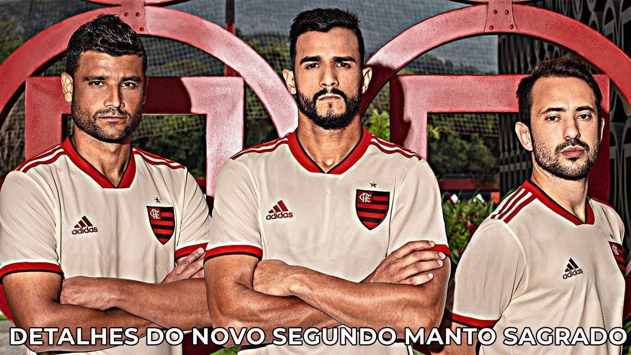 Detalhes do novo segundo Manto Sagrado Flamengo adidas - 2018 2019 ... 06e0d6cb8fd88
