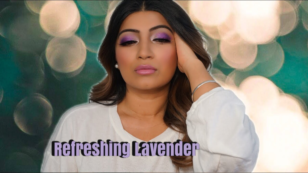 Beautiful and Refreshing Lavender/Violet/ Purple Makeup *Summer Glam*