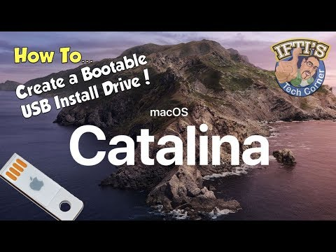 Apple Mac OSX 10.15 Catalina - How To Create A Bootable USB Flash Drive - GUIDE!