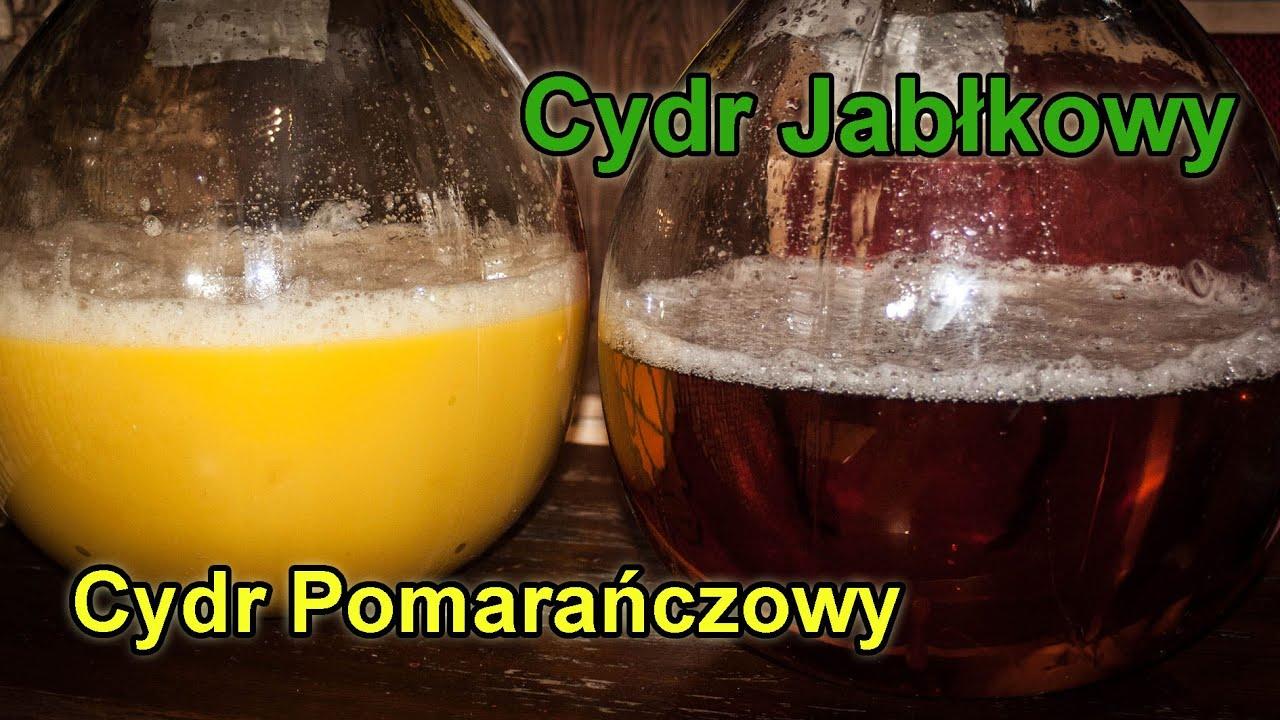 Jak zrobić Cydr Jabłkowy i Cydr Pomarańczowy #1