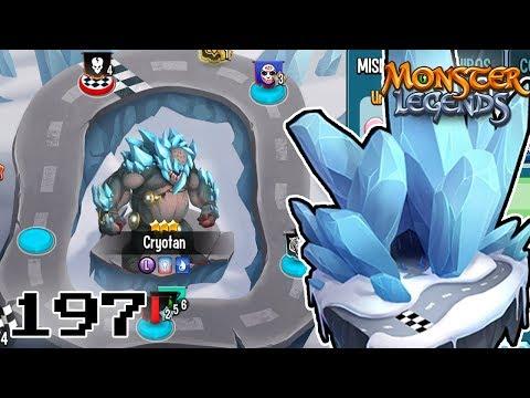 CRYOTAN ESTA OP!!😳 - CARRERA DE EQUIPOS TITAN DE HIELO! - Monster Legends #197