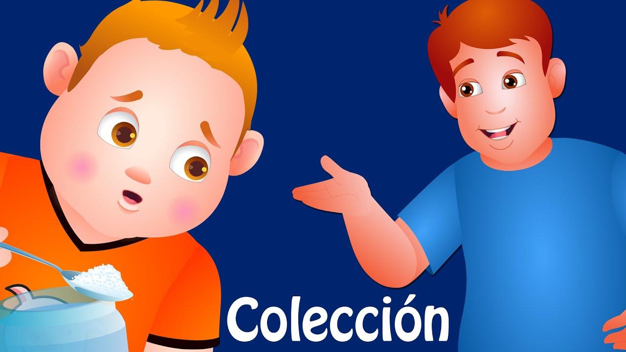 Johny Johny Sí Papá y muchas más Canciones Infantiles Populares | ChuChu TV