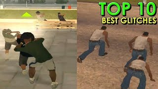 TOP 10 Best Glitches in GTA San Andreas (PC)