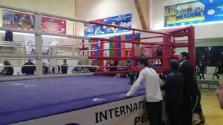 yuxari saral Deniz Quliyev tiblisde maytay boks